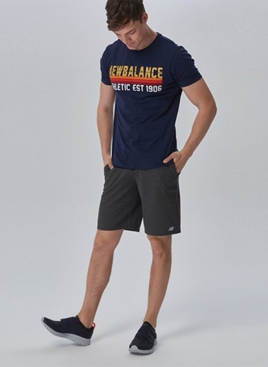 New Balance Şort Siyah